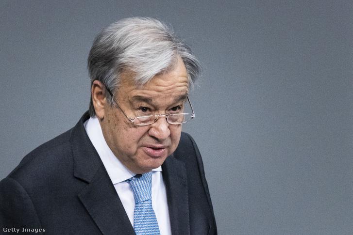 António Guterres ENSZ-főtitkár