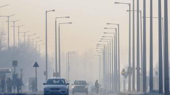 Tovább nőtt a légszennyezettség a szálló por miatt
