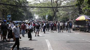 Erőszakkal vetettek véget a mianmari tüntetésnek