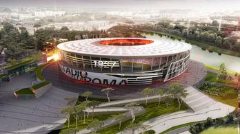 Nem épül tovább az AS Roma stadionja