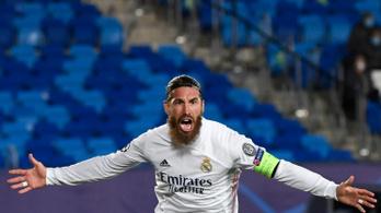 Sergio Ramos kihagyja a Liverpool elleni BL-negyeddöntőt