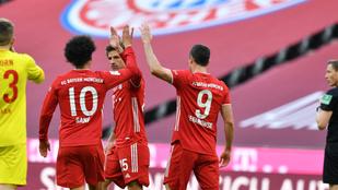 Lewa vezette vissza a győztes útra a Bayernt, Dárdaiék kikaptak