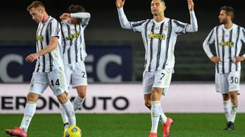 C. Ronaldo megint lecsapott, de ez sem volt elég