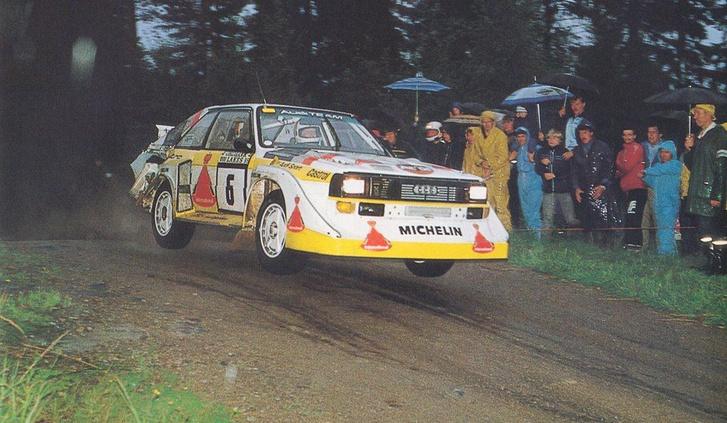 Mikkola az 1985-ös Ezer tó ralin