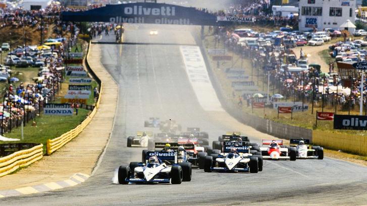 F1-es futam Kyalamiban