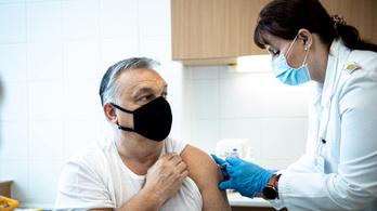 Orbán Viktor megkapta a védőoltást