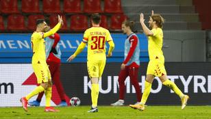 Sallaiék idegenben győzték le a Leverkusent