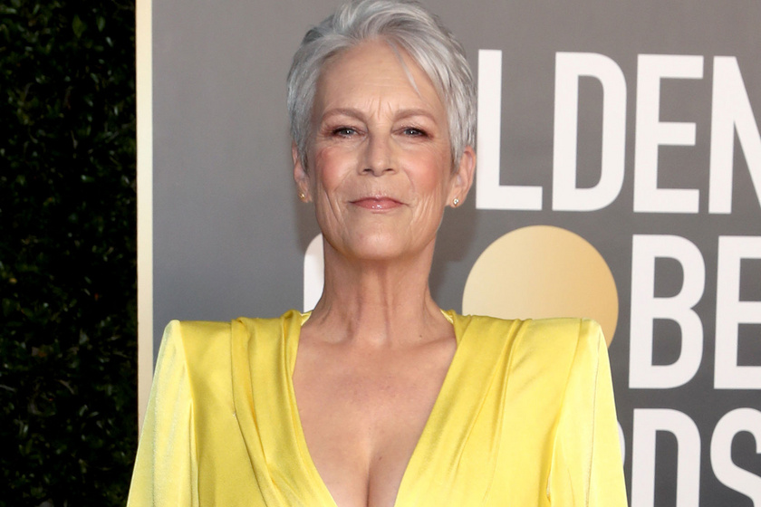 A 62 éves Jamie Lee Curtis irtó dögös estélyit húzott a Golden Globe-ra: minden szem rászegeződött