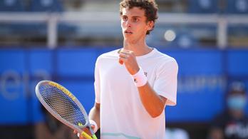 Első ATP-tornáján indult, meg is nyerte a 19 éves tehetség