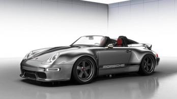 Dögös Porsche tarkóval és nyitott koponyával