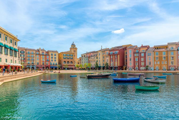 Portofino annyira híres, hogy életnagyságú mása létezik a Universal Studiosban, Orlandóban