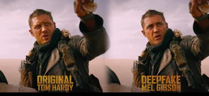 Tom Hardy és Mel Gibson a Shamook YouTube csatorna videójában.