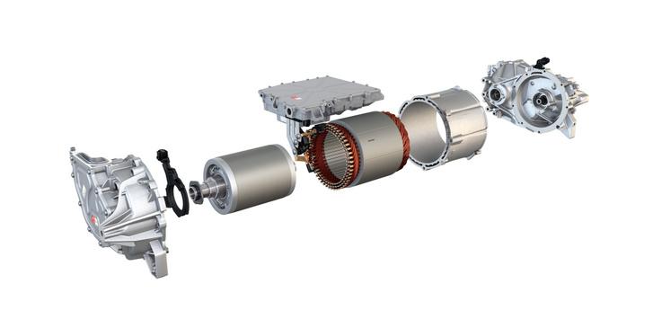 A VW ID.3 állandó mágneses szinkronmotorja a teljesítményelektronikával együtt