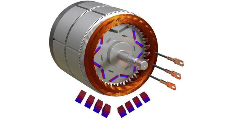 Állandó mágnesekkel javíthatók a reluktancia motorok tulajdonságai. A Toyota és a Tesla is ismeri a trükköt