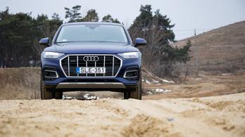 Teszt: Audi Q5 40 TDI quattro S tronic Advanced