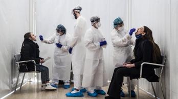 Koronavírus: csaknem 350 ezer új fertőzöttet találtak egy nap alatt a világon