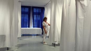 A dolgozók kilencven százaléka visszakapcsolta a villanyt a Szent Imre Kórházban