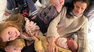 Megszületett Hilaria és Alec Baldwin hatodik gyermeke