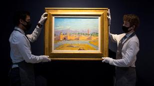 Valaki három és fél milliárd forintnak megfelelő összeget adott egy Churchill-festményért