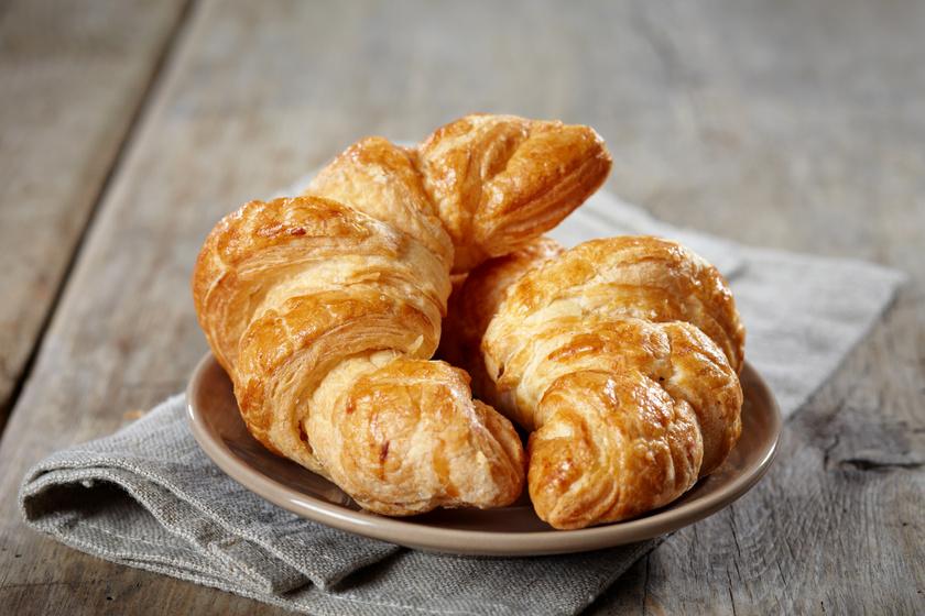 Így lesz tökéletes a franciák kedvence, a croissant: a péksüti a fagyasztást is jól bírja