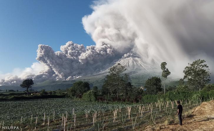indonez vulkán - krónika