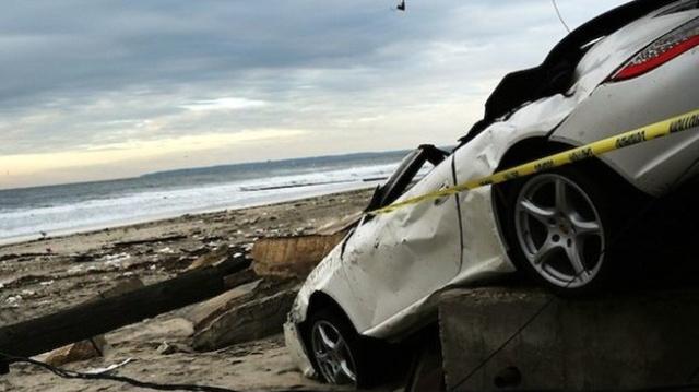 Sandy kétszázezer áldozatának egyike