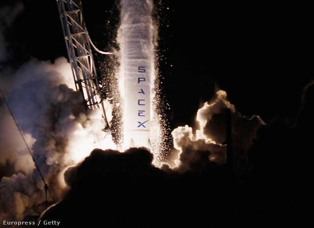 A Falcon 9 indítása