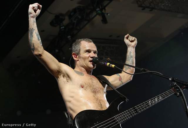 Szilveszteri Red Hot Chili Peppers-koncert Las Vegasban