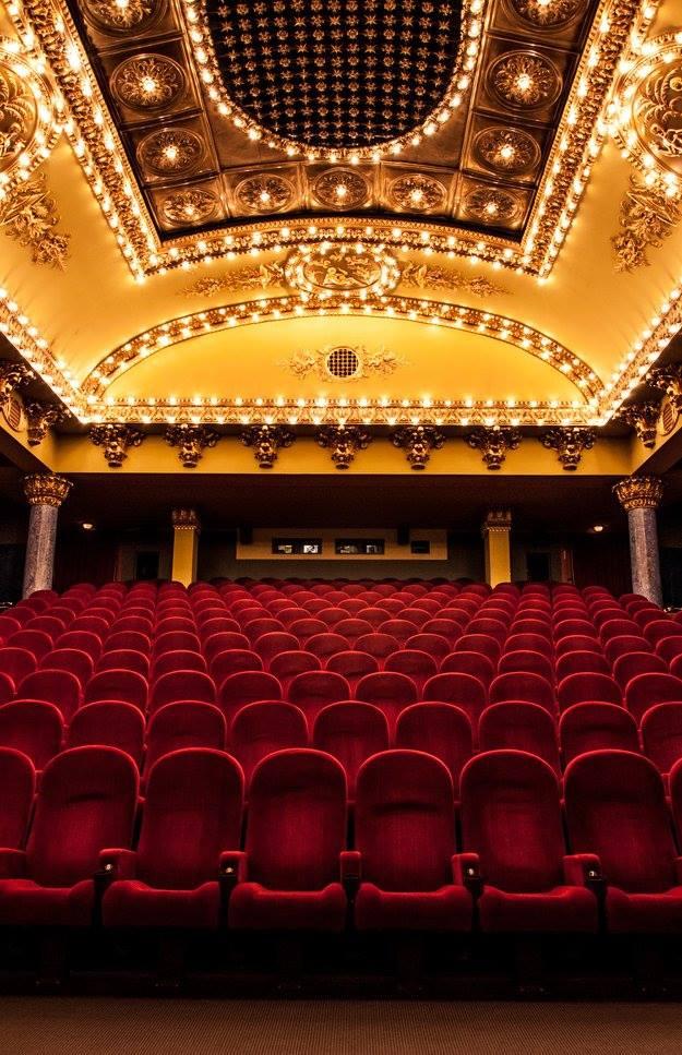 Az átalakított Puskin mozi öt terme klasszikus filmekről kapta a nevét: van itt Amarcord, Mephisto, Körhinta, Annie Hall és Metropolis terem is. A legnagyobb a válogatás szerint igazi időkapszula márványos oszlopaival, vörös székeivel és gyönyörű mennyezetével.