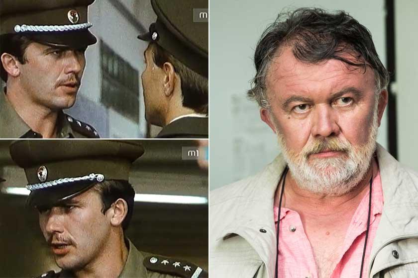 Az 1985-ben bemutatott A Gyalogbéka című tévésorozatban Csuja Imre mindössze 25 esztendős volt. Bár a külseje alapján nem biztos, hogy felismernénk, öblös hangja már ekkor összetéveszthetetlen volt.