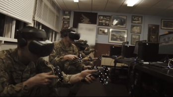 Virtuális valóság segíti a katonák kiképzését