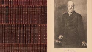 Jókai Mór nem píszí, mégis milliókat érnek dedikált regényei