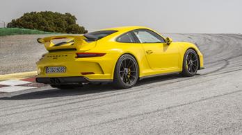 Egyre népszerűbb a kézi váltós 911 GT3