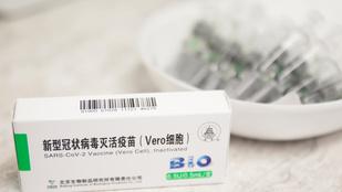 Két hét múlva érkezik a következő kínai vakcinaszállítmány