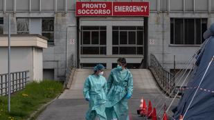 Közel 100 ezer ember halt meg a koronavírus szövődményei miatt Olaszországban