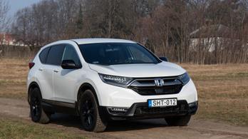 Teszt: Honda CR-V Hybrid Sport Line - 2021.
