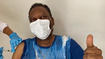 Pelé is megkapta a védőoltást