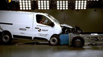 Ausztráliában megbukott a törésteszten az átjelvényezett Renault Trafic