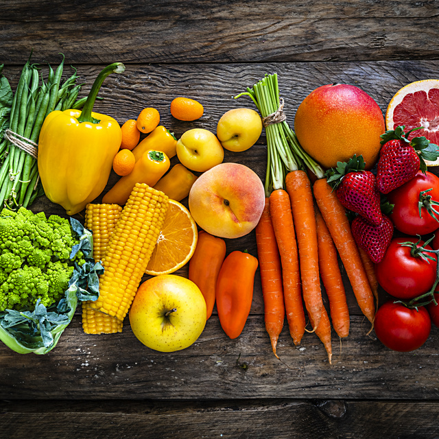 Ilyen színű ételeket egyél, ha fogyni szeretnél: 1 hetes mintaétrend a színdiétához
