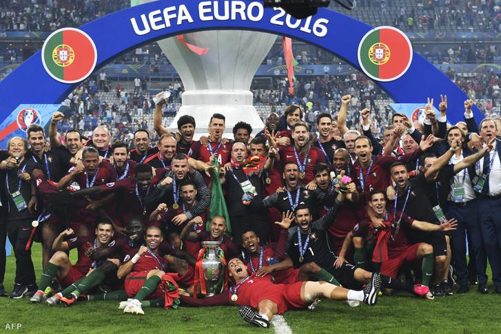 A 2016-os viadalt a portugálok nyerték meg