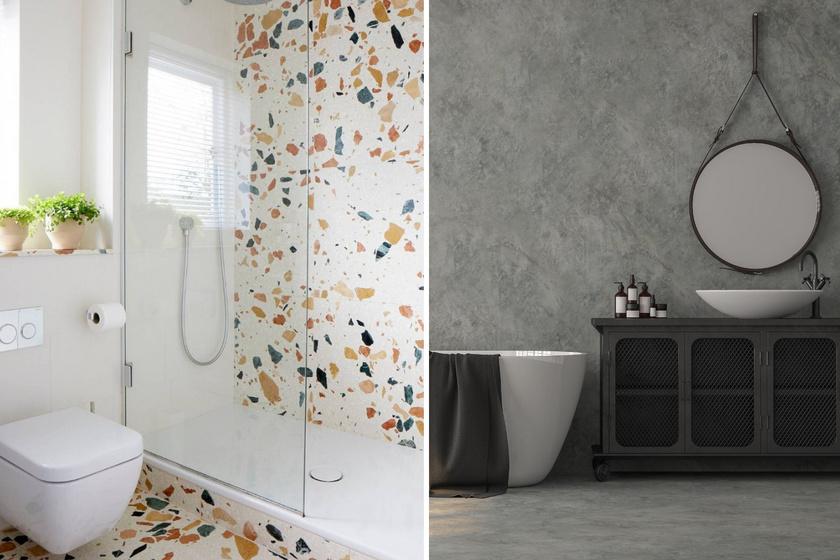 8 gyönyörű, modern burkolat a fürdőbe, ami egyedibb, mint a csempe: képeken a kedvenceink