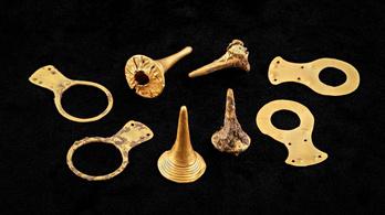 Aranytárgyakat találtak a hatezer éves borsodi rézkori temetőben