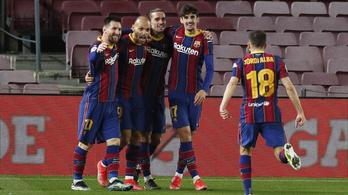 A 93. percig kiesésre állt, mégis bejutott a Király-kupa döntőjébe a Barcelona