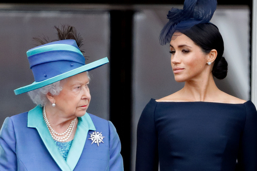 Erzsébet királynő nem hagyja annyiban: nyomozást indított Meghan hercegné ügyében