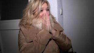 Liptai Claudia megmutatta az alagsori lakást, ahol a '70-es években a szüleivel nyomorogtak
