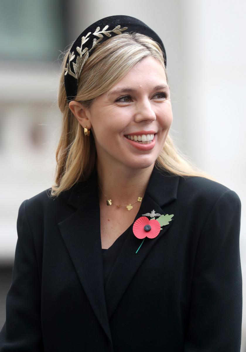 Carrie Symonds 2019 decembere óta Boris Johnson menyasszonya.