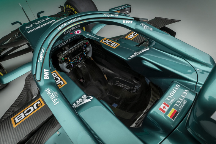 Aston Martin Cognizant Formula One Team AMR21 10