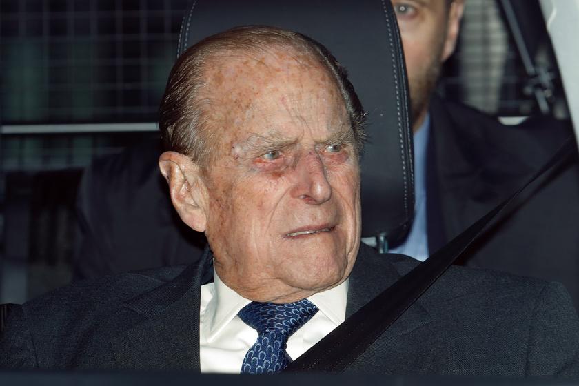 A 99 éves Fülöp herceget meg kellett műteni: most jelentette be a palota