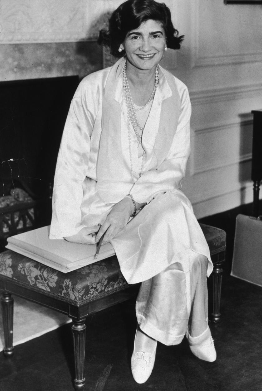 Coco Chanelről ez a fotó 1931-ben készült.