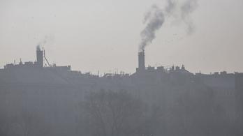 Ismét nő a légszennyezettség